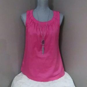Ann Taylor pink top